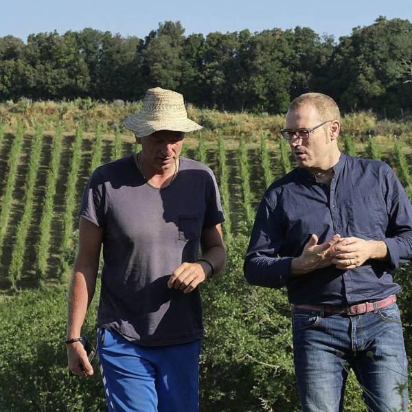 """Filippo Magnani e Andrea Margiacchi, Azienda agricola """"I Mandorli"""", Suvereto (LI), Toscana, Italia"""